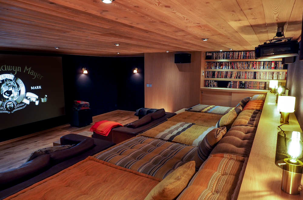 15/Grande Ourse/Chalet Luxe Salle Cinema